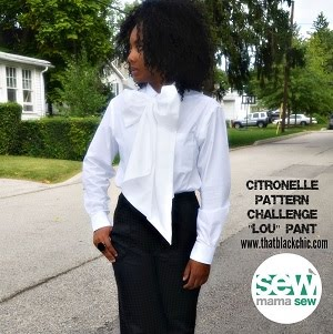Citronelle Sewing Challenge