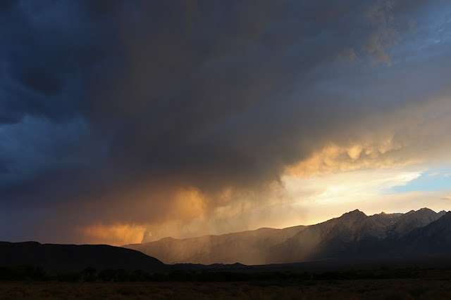 Owens Valley Sunset