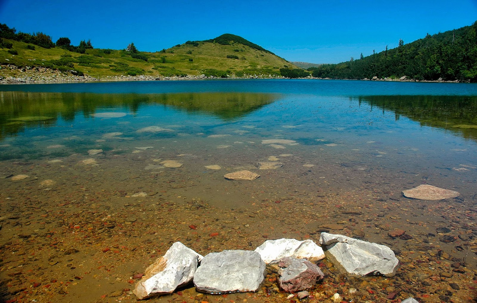 Full HD Lake Mountains Nature Desktop Backgrounds Image Wallpaper Free