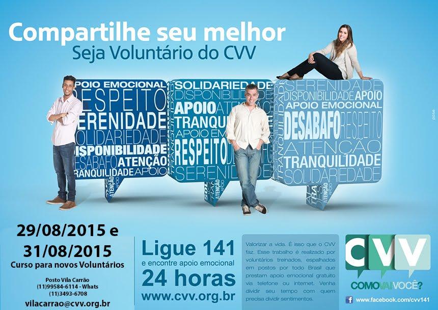 CVV Vila Carrão - CVV Zona Leste - CVV ZL - SP capital