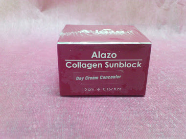 A-lazo Collagen Sunblock Day Cream Concealer