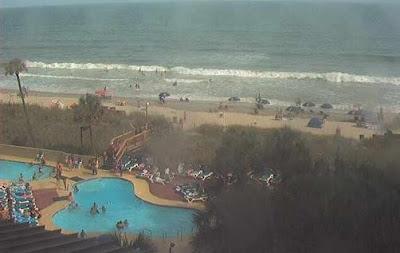 Live Webcams, Beachcams, Surfcams South Carolina: Isle of Palms und Myrtle Beach, Hurrikanfotos, Live Webcam, South Carolina, USA, US-Ostküste Eastcoast, Irene, major hurricane, 2011, Hurrikansaison 2011,