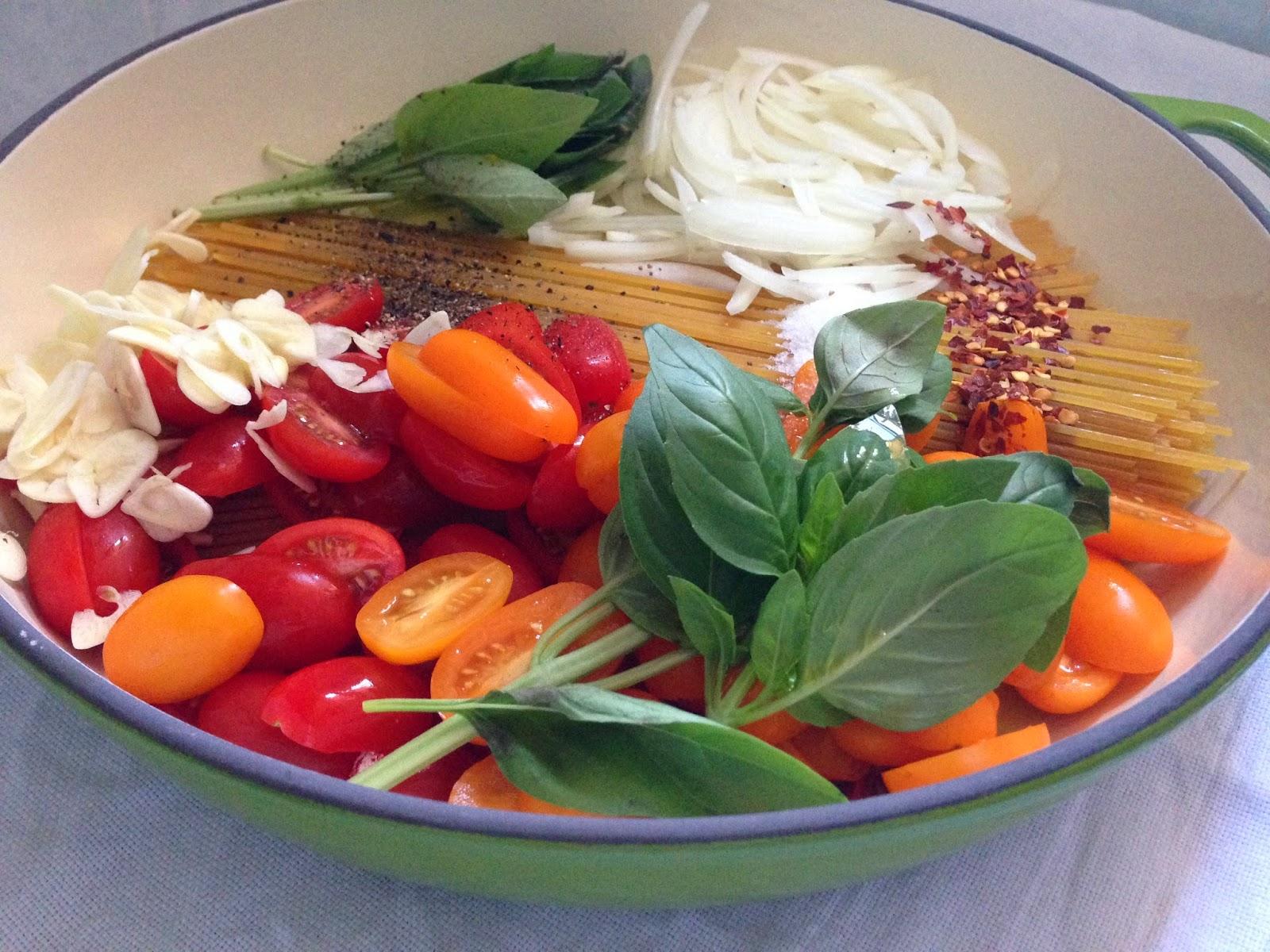 Martha Stewart's one-pan-pasta