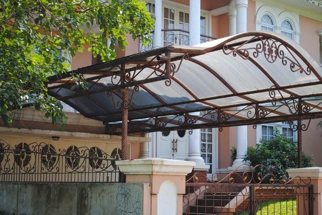 Canopy rumah minimalis 4