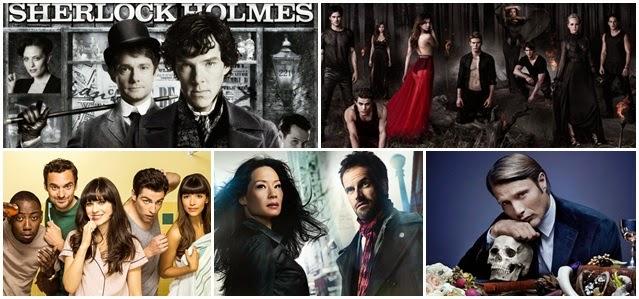 séries que eu assisto