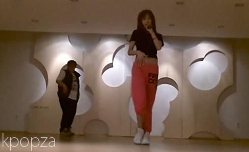 """คลิปวีดีโอ G.NA ซ้อมเต้นเพลง """"Oops!"""""""