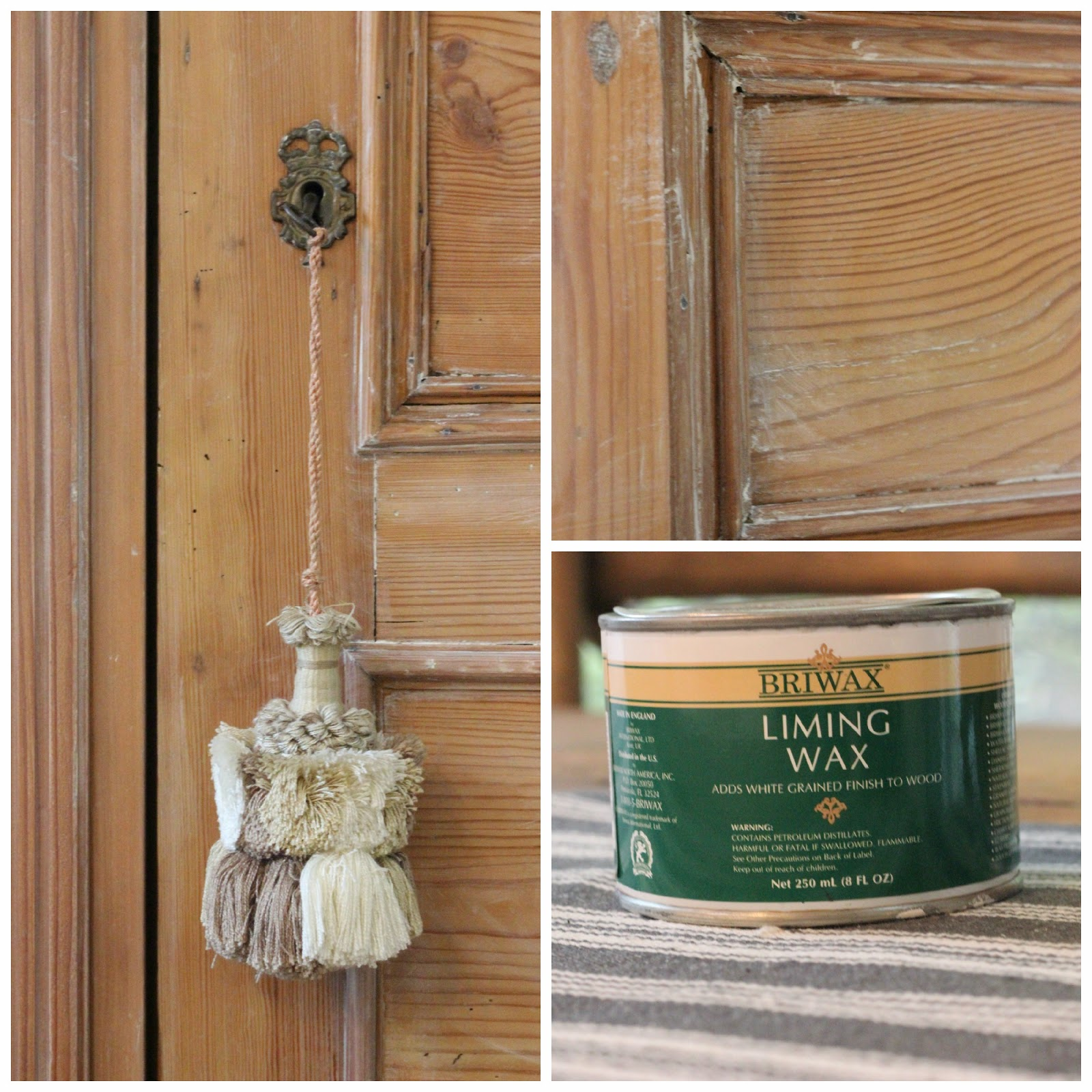 Using Liming Wax On Pine Forever Cottage