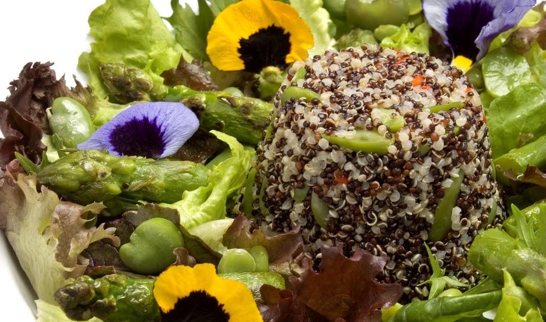 Cocina de mercado ensalada de qu noa y habas for Cocinar quinoa negra