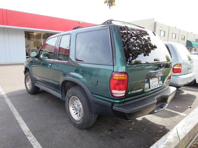 Ford Explorer with new bumper, collision & frame repairs from Almost Everything Auto Body