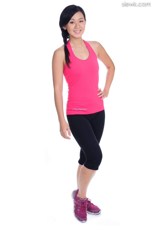 fitness wear clothing photoshoot