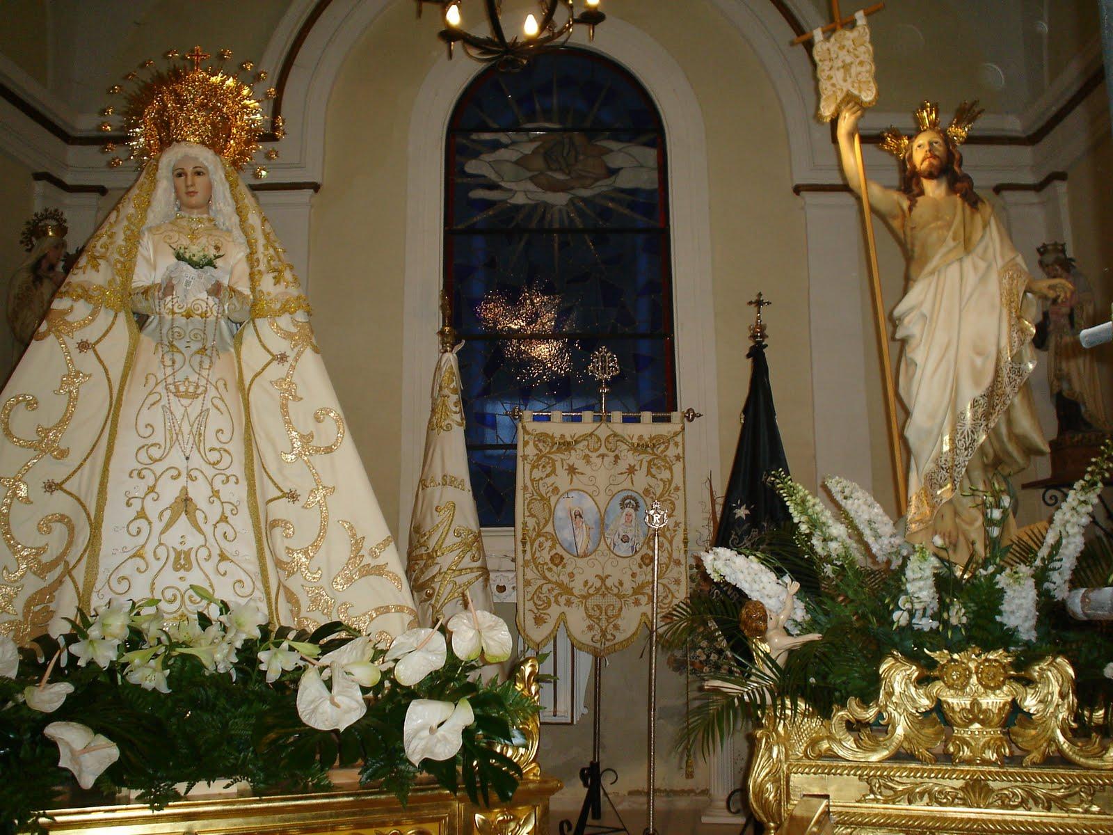 cena Virgen morena