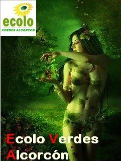 nueva WEB para Alcorcon ECOLO VERDES ALCORCON