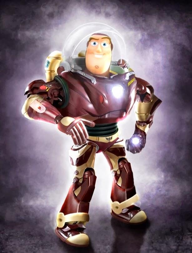 Buzz vs Iron Man