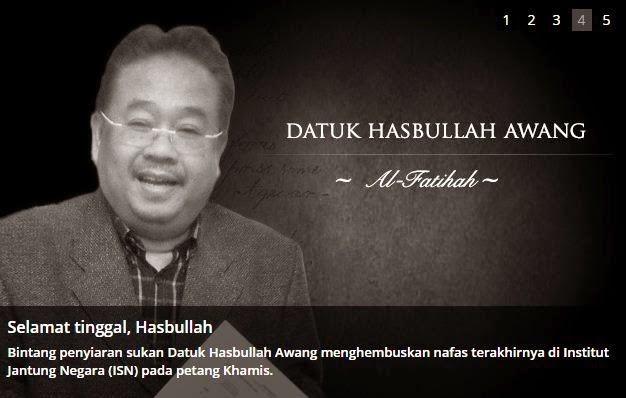 15 Ulasan Hasbullah Awang Yang Menjadi Kenangan Rakyat Malaysia