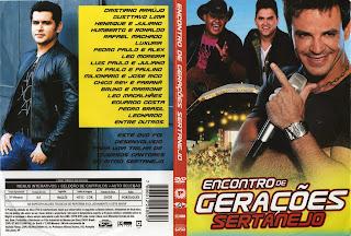 DVD Encontro de Gerações Sertanejo (2015)