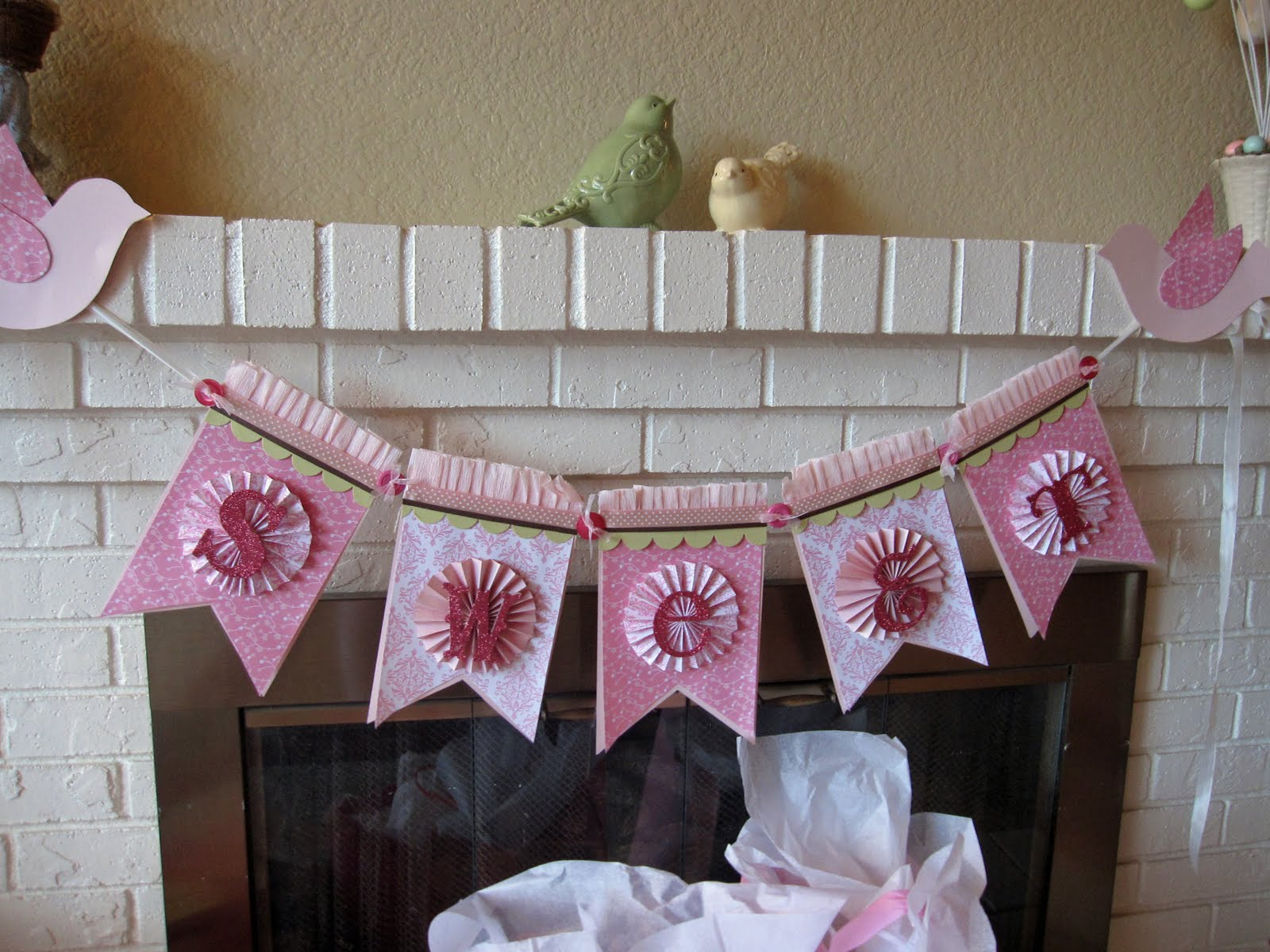 Baby Girl Shower Decorations Ideas