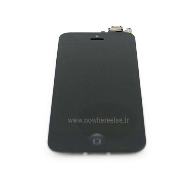 Apple's iPhone5 Front Panel Images Alleged: High Quality Images