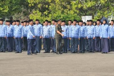 Panglima TNI Inspektur Peringatan HUT KORPRI