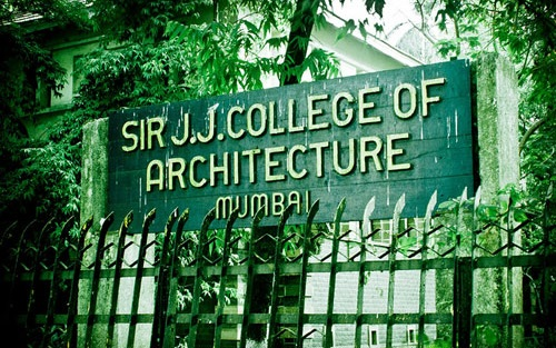 Mysansar top three architecture colleges in india for J j school of architecture