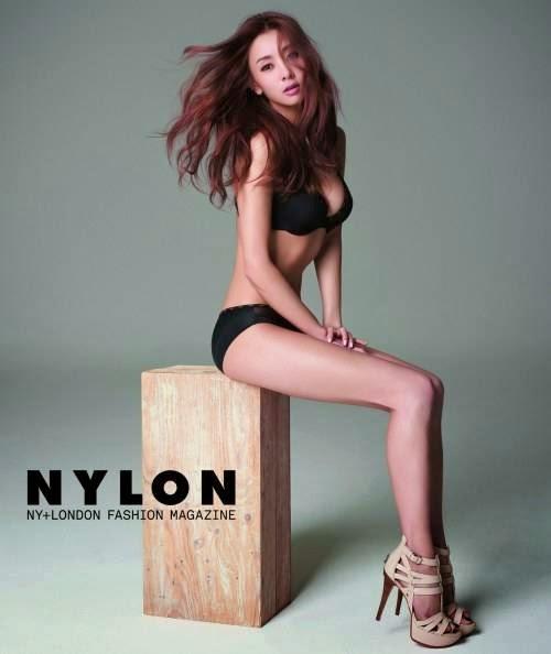 G.NA Guess Nylon Magazine April 2014