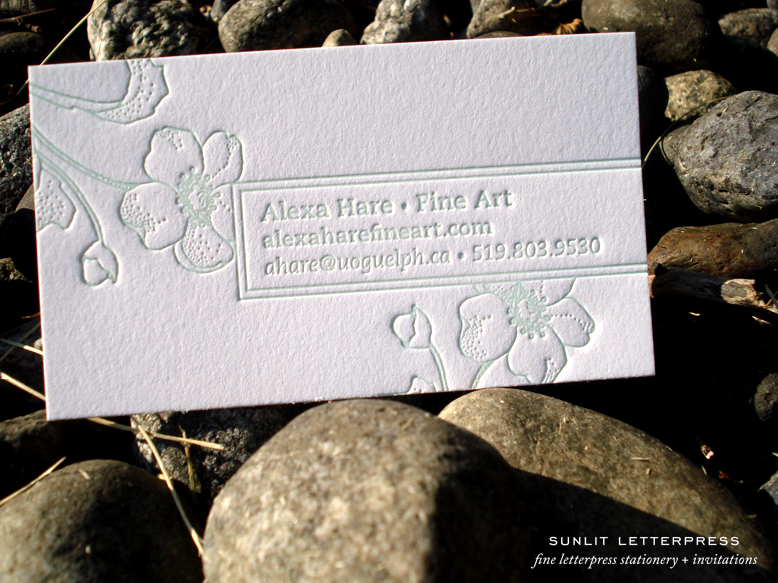 Adventures in letterpress fine letterpress stationery custom above is a photo of some cards we recently printed from our ready to wear line of businesscalling cards our ready to wear cards are pre designed and sold reheart Choice Image