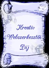 Kreatív Webszerkesztői Díj