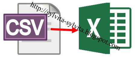 cara membuka file csv di excel 2016