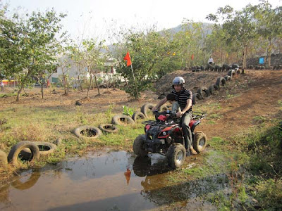 ride an all terrain bike at mohili meadows