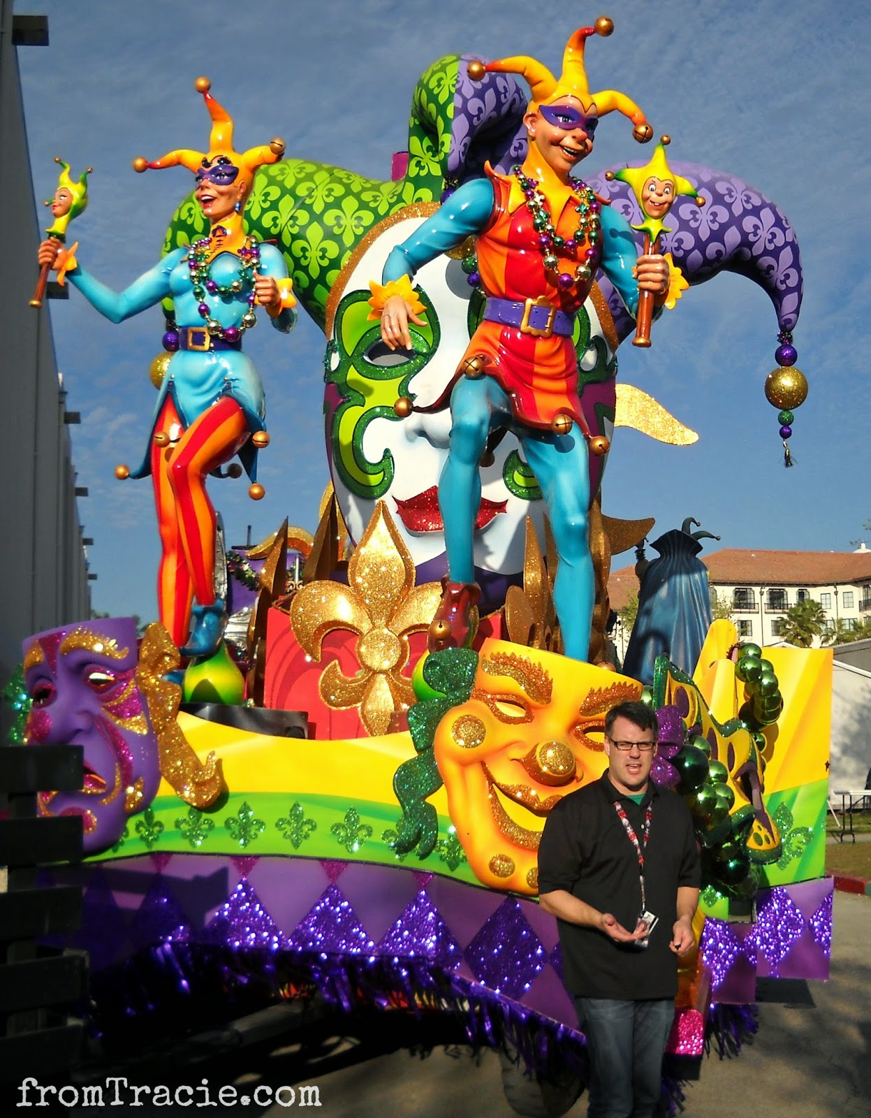 Patrick Braillard and Jester Float