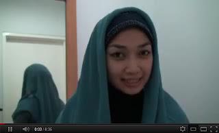 Video Cara Memakai Kerudung Jilbab Pashmina