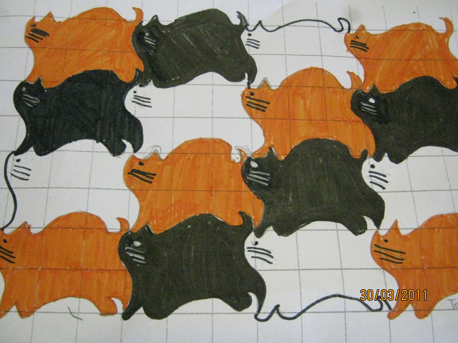 Travis@Enrich: My Cat Tessellation
