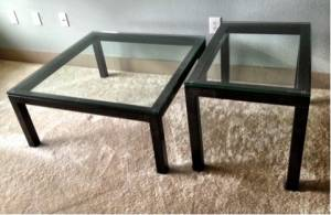 Coffee And Side Tables   $399
