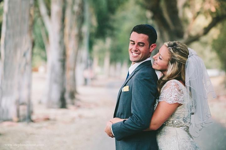 """""""bride and groom chic los angeles wedding"""""""
