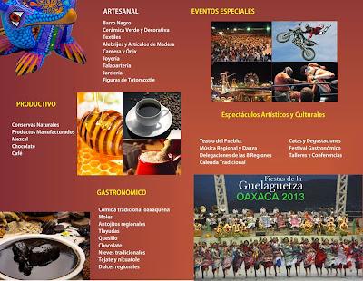 Feria Oaxaca 2013, actividades