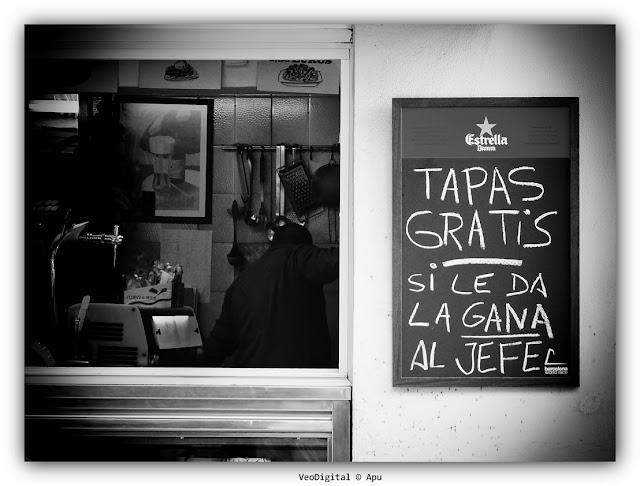 Tapas gratis Barcelona