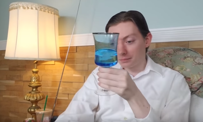 Reviewbrah and His Famous BLUE CHALISE