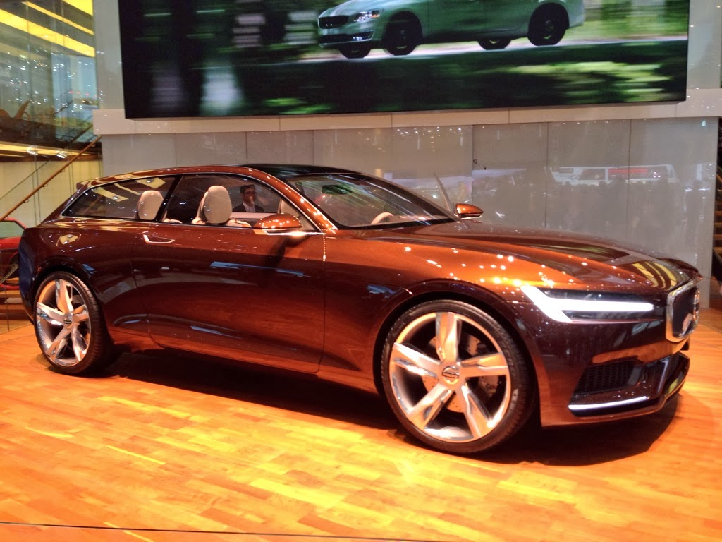 Volvo Concept Estate at Geneva Motor Show