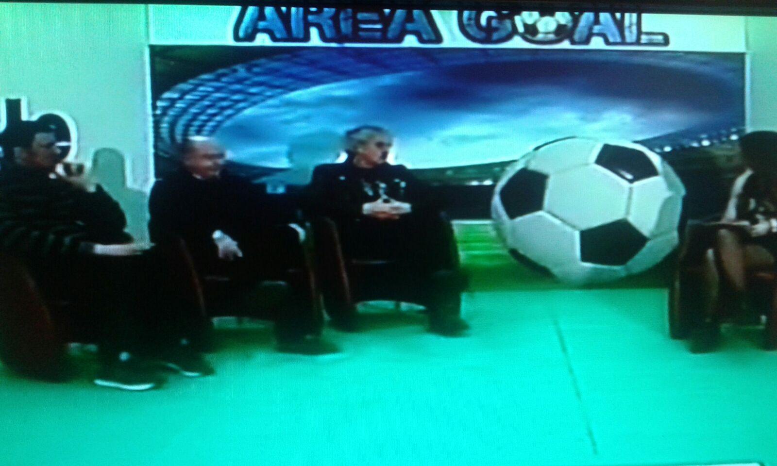 """Radio No Frontiere ad """"Area Goal"""" su Teleprima del 02-03-17"""