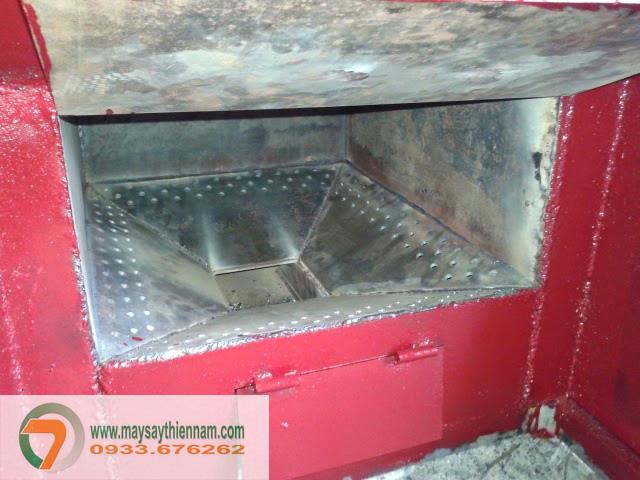 Buồng đốt máy sấy hải sản