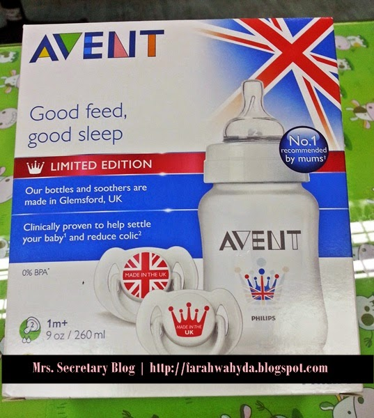 Philips AVENT Royal Bottle Soother Limited Edition Set For Muhammad Emir Daniyal
