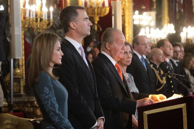 Discurso del Rey de España ante el Cuerpo Diplomático extranjero 2014