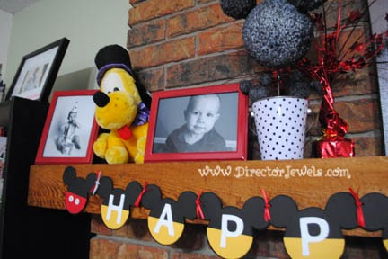 Director Jewels Easy Diy Mickey Mouse Clubhouse Happy Birthday