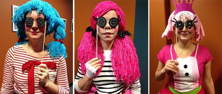 Marin Anchors Charlotte Charades Jewel Sparkles  sc 1 st  rae by day & rae by day: DIY: A Lalaloopsy Doll Costume