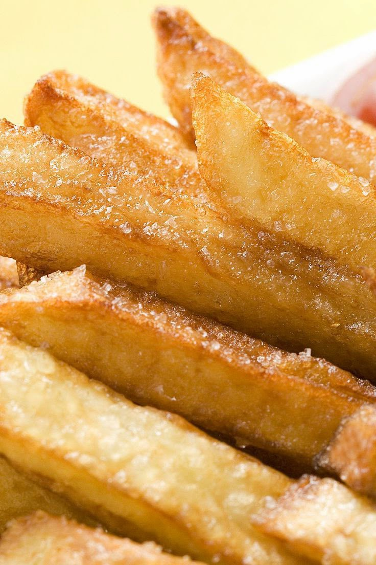 Crispy Turnip 'Fries' - FOOD MASTER