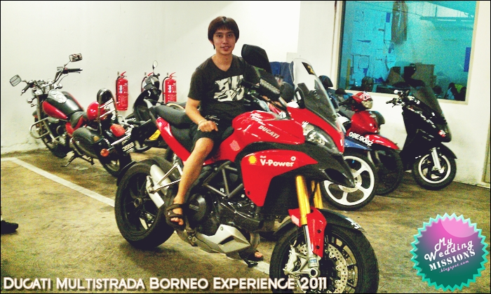 My Wedding MISSIONS before after Ducati Multistrada Borneo Experience