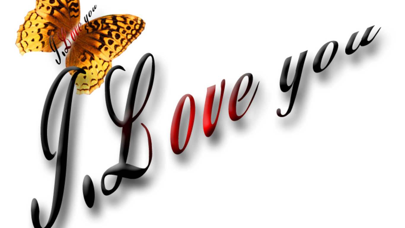 Wallpaper I Love You 3d : wallpaper: Wallpapers Of P.s. I Love You