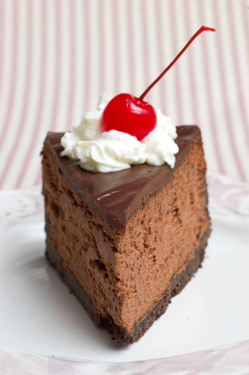 Sugar & Spice by Celeste: Incredible Triple Chocolate Cheesecake