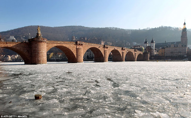 Unbelievable Pictures of Frozen Europe