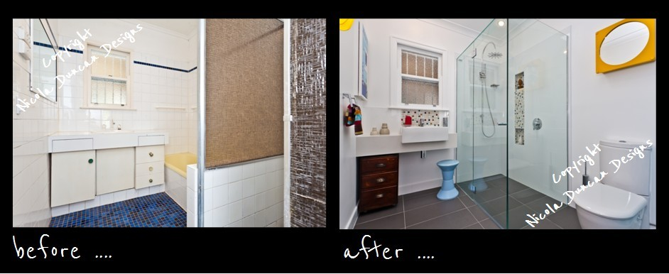 make space: What a difference new floor, walls, tiles, paint and a ...