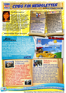 CDBS NEWSLETTER 25 MARET - 7 APRIL 2011